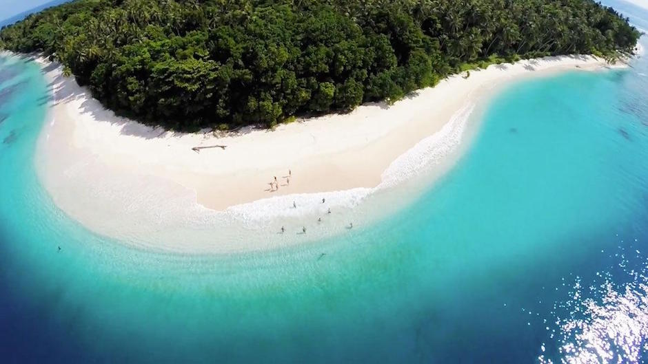 Mentawai Islands Surfing Surfen Insel Hotspot Meer Türkisblau Paradies