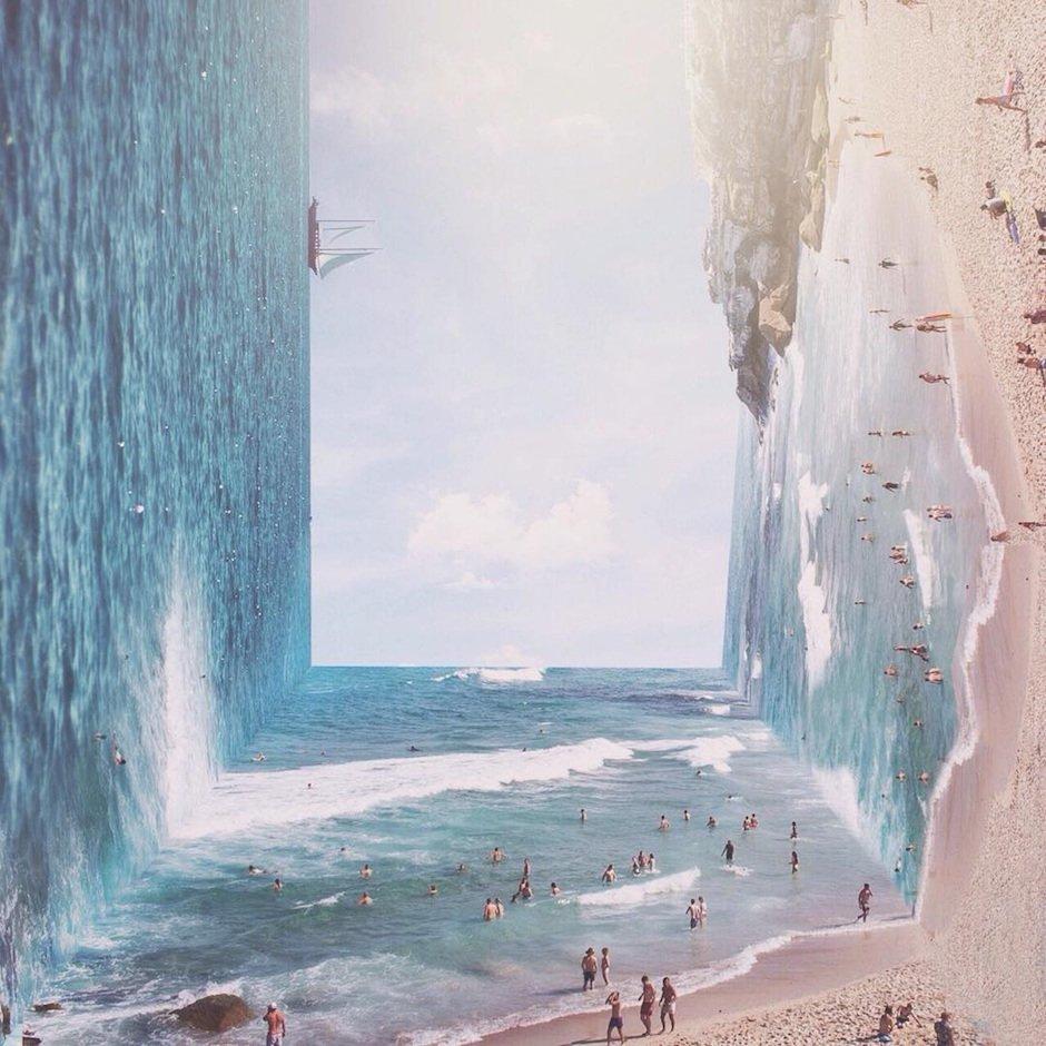 Surreal Landscape Jati Putra Pratama Indonesien Inception Landschaftsaufnahmen Photoshop