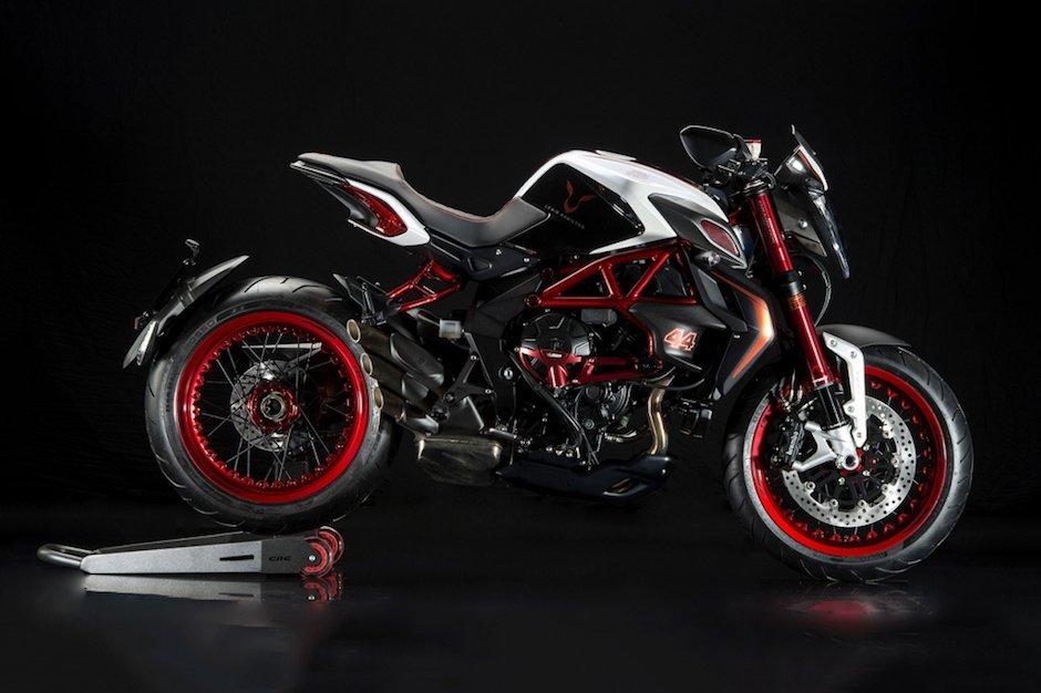 MV Agusta Dragster RR LH44 Lewis Hamilton Rot Schwarz Motorrad Superbike