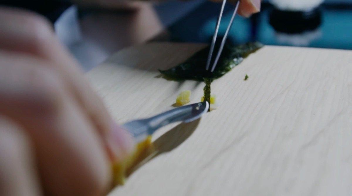 Kurashiki Central Hospital Surgeon Tryouts Chirugen Fähigkeiten Test Aufnahme Prüfung Fingerspitzengefühl Nähen Origami Werkzeug