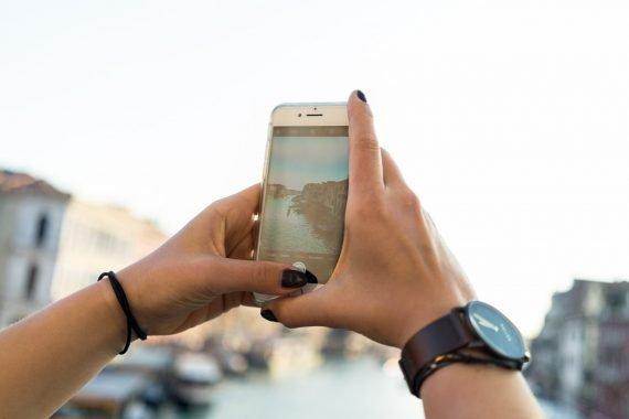 Venedig Venezia Venice Italien Romantik Romance Romantisch Urlaub Lifestyle Rialto Brücke iPhone 7 Diana Uhr