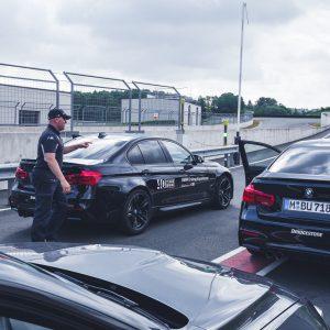 BMW M Intensive Training Bilster Berg Instruktor Marcus VLN BMW M3 Boxengasse