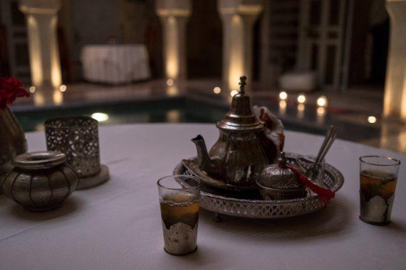 Riad AnaYela Marrakesch Marrakech Boutique Hotel Medina Frischer Minztee