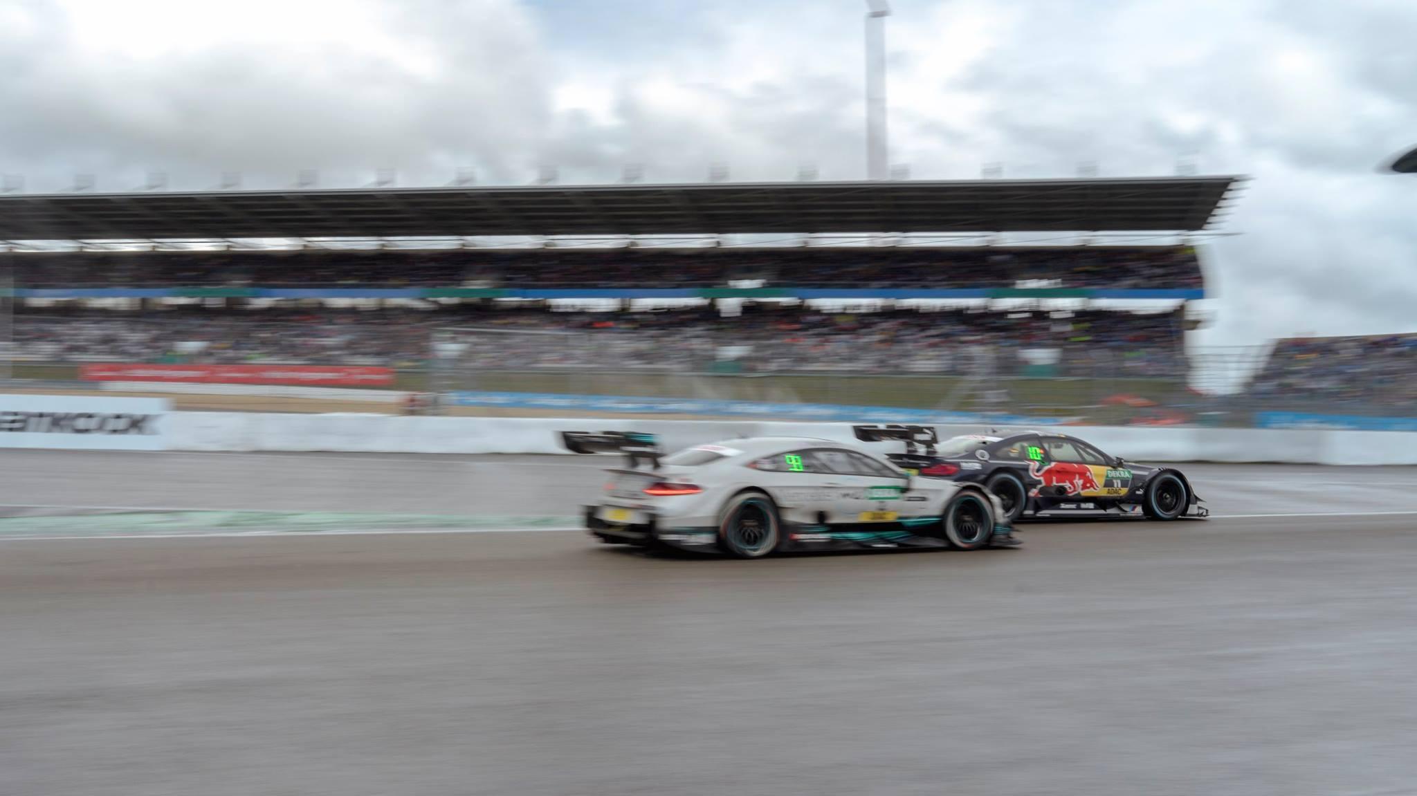 Gary Paffett Marco Wittmann Fight Überholen Tourenwagen