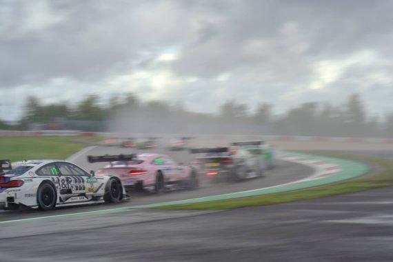 Regenrennen Samstag DTM 2017 Nürburgring