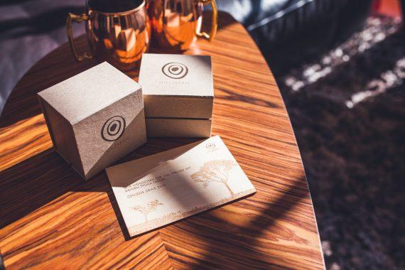 Holzkern Uhren Verpackung Boxing