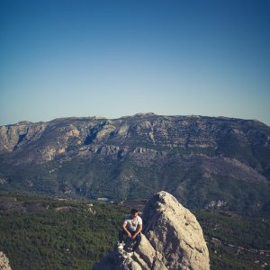 Guadalest Valley Ausblick Berge