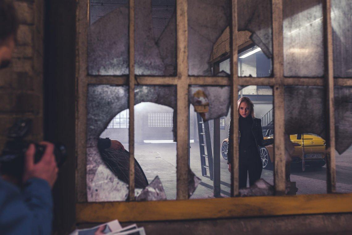 gesprungenes glas Fenster Model