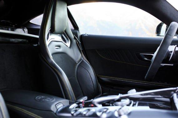 Ledersitz Innenraum Mittelkonsole Fahrersitz