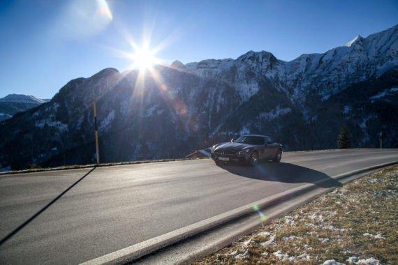 Sonnenschein Berge Gipfel Bergpass
