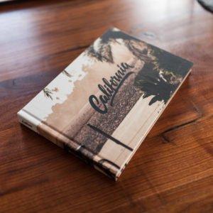 Fotobuch Holztisch