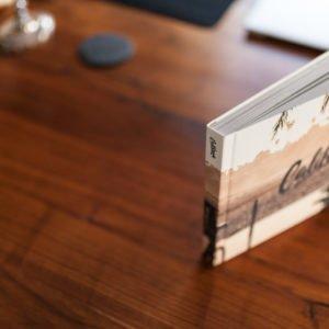 Buch Holz Seiten