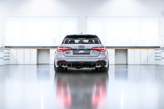 Auspuffanlage Endrohre Heckleuchten Audi ABT RS4-R