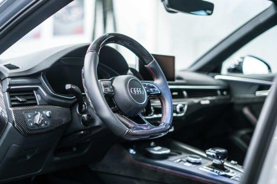 RS4-R Lenkrad Carbon Interieur Innenraum Armaturenbrett