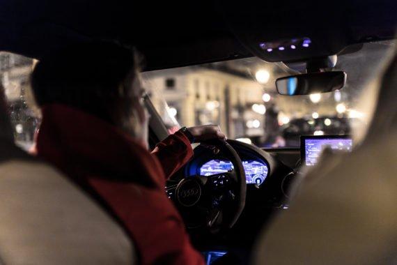 Audi RS3 Cockpit Armaturenbrett LED Display