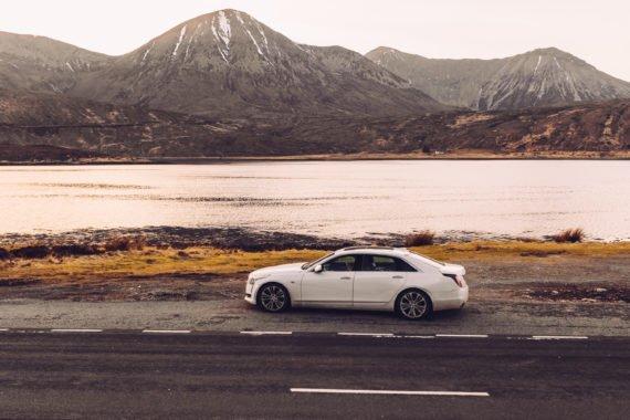 Isle of Skye Meer Atlantik Automobil