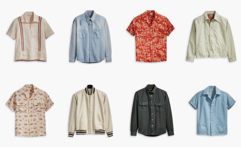 Levi's Sommer Kollektion SS18 Spring Summer Hawaii Hemd T-Shirt Jacke