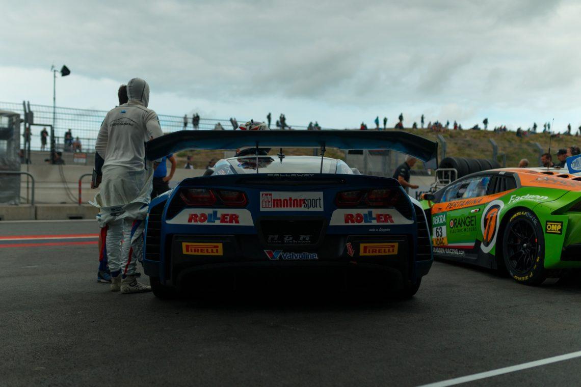 Corvette Rennwagen ADAC GT Masters Heckspoiler