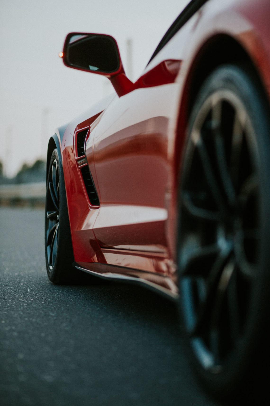 Corvette C7 Grand Sport Spiegel Seitenschweller Luftauslässe Felgen Carbon