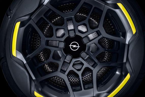 Opel GT X Experimental Felge schwarz