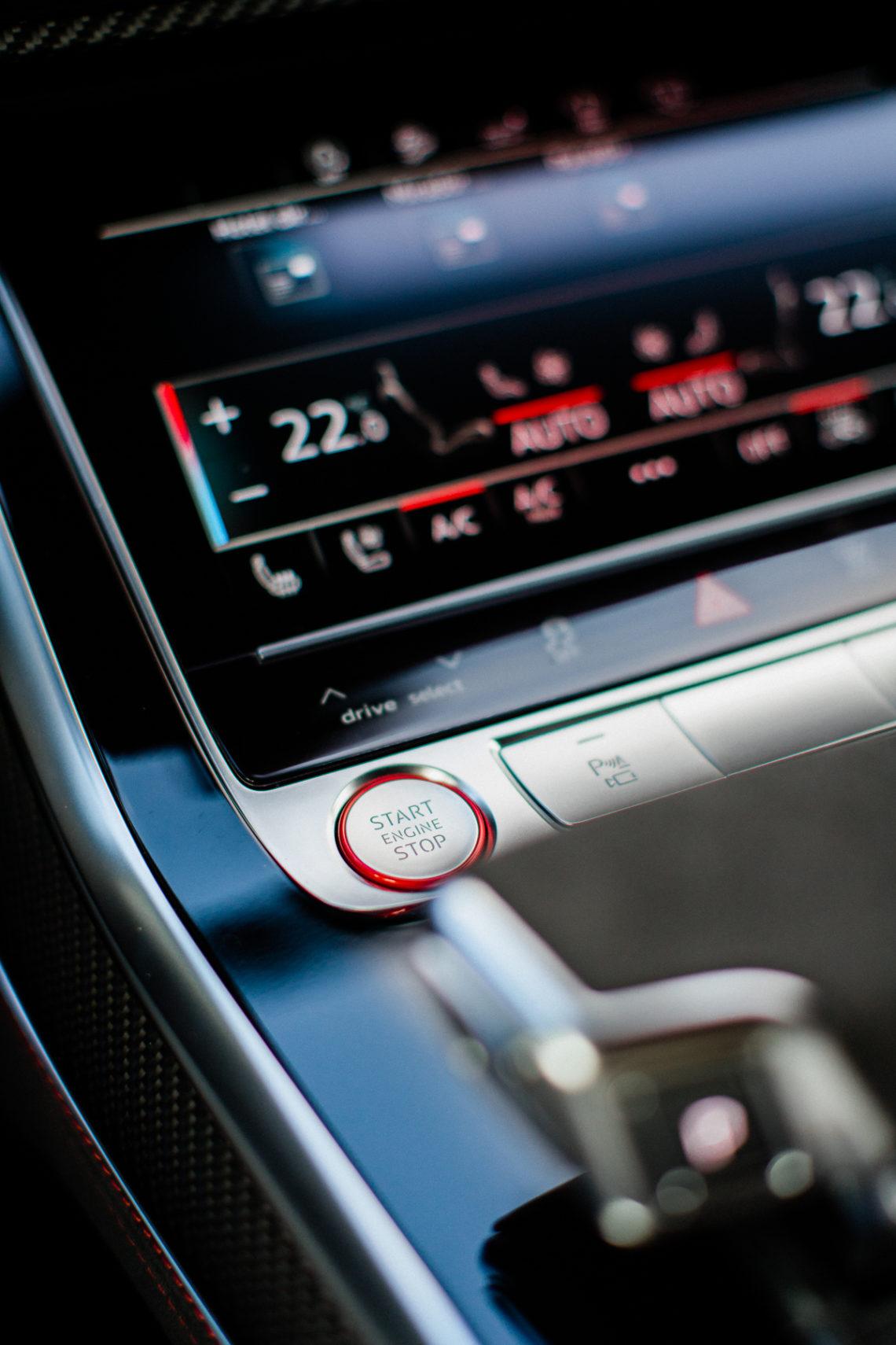 audi rsq8 mmi touchscreen