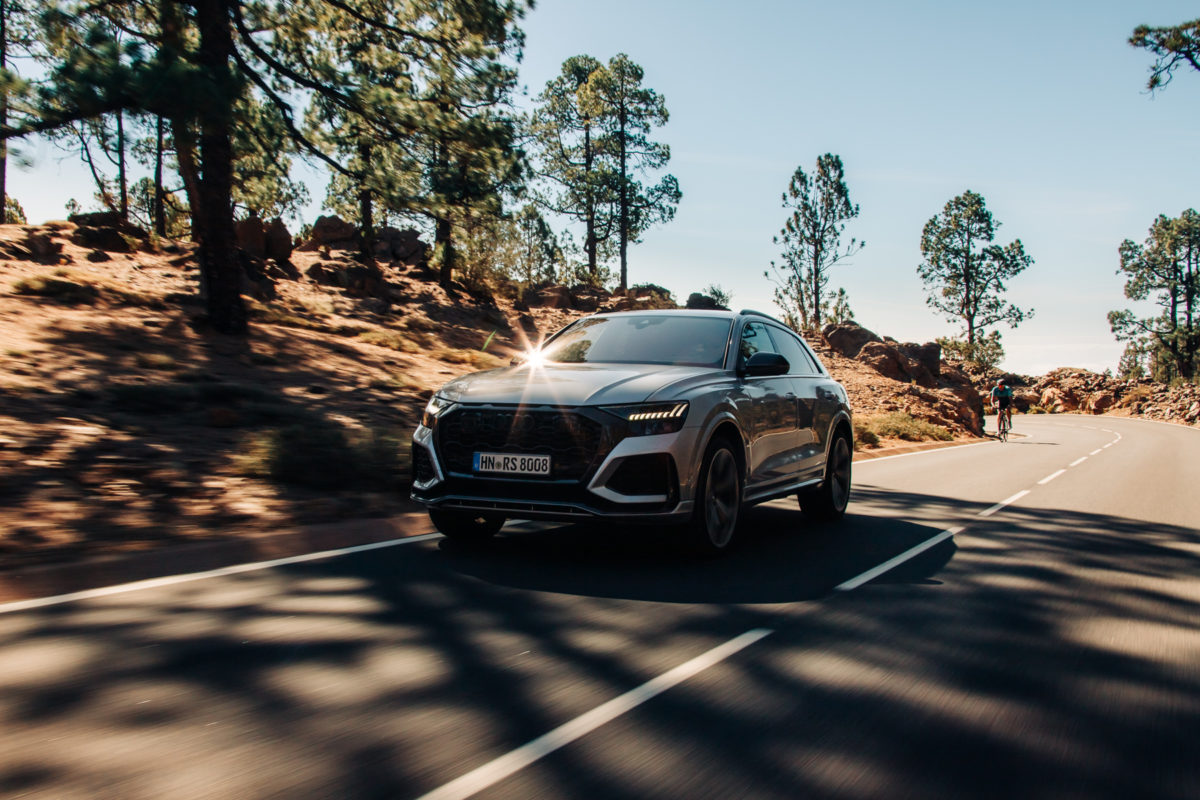 audi rsq8 silber car to car pinienwald